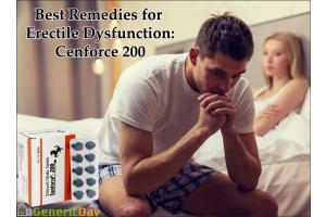Best Remedies for Erectile Dysfunction: Cenforce 200