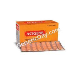 Buy Acigene Orange Tablet