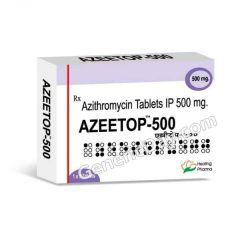 Buy Azeetop 500 Mg