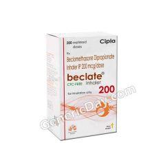 Buy Beclate CFC Free 200 Mcg Inhaler