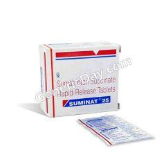 Buy Suminat 25 Mg